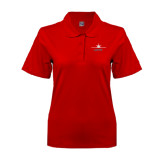 Ladies Easycare Red Pique Polo-Twinjet Craft Stacked - Falcon 2000, Falcon 2000EX
