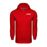Under Armour Red Performance Sweats Team Hood-Dassault Falcon