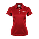 Ladies Nike Dri Fit Red Pebble Texture Sport Shirt-Falcon 5X Craft