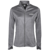 Ladies Callaway Stretch Performance Heather Grey Jacket-Dassault Aircraft Services