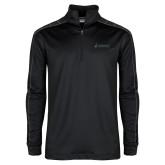 Nike Golf Dri Fit 1/2 Zip Black/Grey Pullover-Dassault Aviation