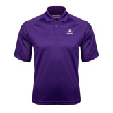 Purple Textured Saddle Shoulder Polo-Trijet Craft Stacked - Falcon 900