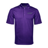 Purple Mini Stripe Polo-Dassault Falcon