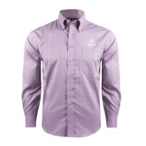 Red House Purple Plaid Long Sleeve Shirt-Trijet Craft Stacked - Falcon 900, Falcon 900EX, Falcon 50EX