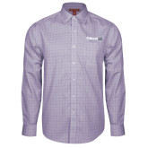 Red House Purple Plaid Long Sleeve Shirt-Falcon 6X