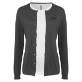 Ladies Charcoal Cardigan-Falcon 6X