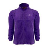 Fleece Full Zip Purple Jacket-Falcon 5X Craft