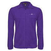 Fleece Full Zip Purple Jacket-Falcon 900LX Craft