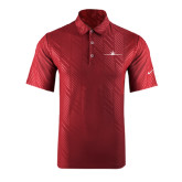 Nike Dri Fit Cardinal Embossed Polo-Falcon 7X Craft