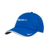 Nike Dri Fit Royal Perforated Hat-Falcon