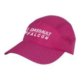 Pink Pace Setter Cap-Dassault Falcon