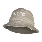 Khaki Bucket Hat--