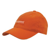 Orange OttoFlex Unstructured Low Profile Hat-Dassault Falcon