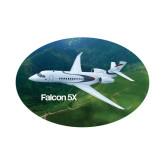 Small Magnet-Falcon 5X Over Green Landscape