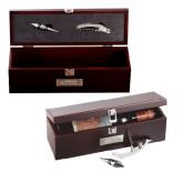 Napa Wine Case-Dassault Falcon Engraved