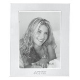 Silver Two Tone 8 x 10 Photo Frame-Dassault Falcon Engraved