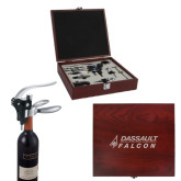 Executive Wine Collectors Set-Dassault Falcon Engraved