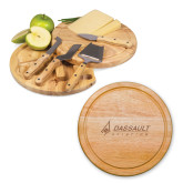 10.2 Inch Circo Cheese Board Set-Dassault Aviation Engraved