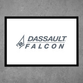 Full Color Indoor Floor Mat-Dassault Falcon