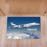 Full Color Indoor Floor Mat-Falcon 5X Over Clouds