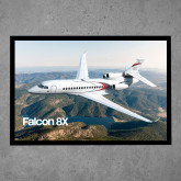 Full Color Indoor Floor Mat-Falcon 8X Over River