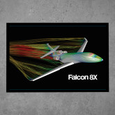 Full Color Indoor Floor Mat-Falcon 8X Color Computer Illustration