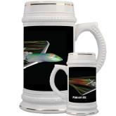 Full Color Decorative Ceramic Mug 22oz-Falcon 8X Color Computer Illustration
