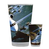 Full Color Glass 17oz-Falcon 900LX Coastal