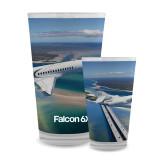 Full Color Glass 17oz-Falcon 6X In Air