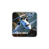Hardboard Coaster w/Cork Backing-Falcon 900LX Coastal