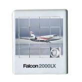 Scrambler Sliding Puzzle-Falcon 2000LX Silver Lining