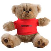 Plush Big Paw 8 1/2 inch Brown Bear w/Red Shirt-Falcon 8X