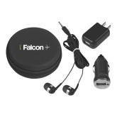 3 in 1 Black Audio Travel Kit-Falcon