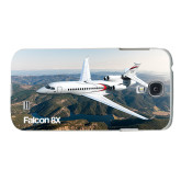 White Samsung Galaxy S4 Cover-Falcon 8X Over River