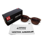 Ladies Under Armour Perfect Tortoise Sunglasses-Dassault Falcon