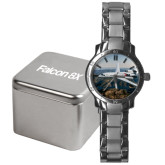 Mens Stainless Steel Fashion Watch-Falcon 8X Over River