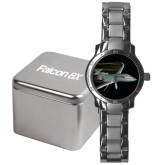 Mens Stainless Steel Fashion Watch-Falcon 8X Color Computer Illustration