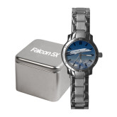 Ladies Stainless Steel Fashion Watch-Falcon 5X Over Clouds