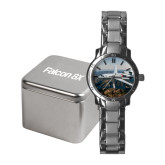 Ladies Stainless Steel Fashion Watch-Falcon 8X Over River