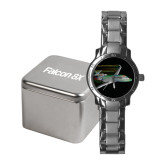 Ladies Stainless Steel Fashion Watch-Falcon 8X Color Computer Illustration