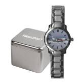 Ladies Stainless Steel Fashion Watch-Falcon 2000LX Silver Lining