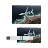 Card USB Drive 4GB-Falcon 7X Over Beach