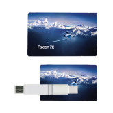 Card USB Drive 4GB-Falcon 7X Over Mountains