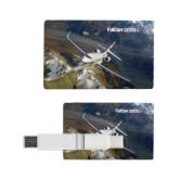 Card USB Drive 4GB-Falcon 2000S Over Snowy Mountain