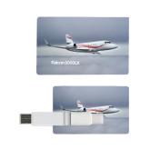 Card USB Drive 4GB-Falcon 2000LX Silver Lining