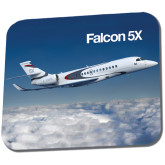 Full Color Mousepad-Falcon 5X Over Clouds