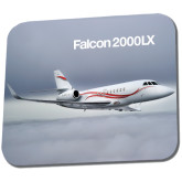 Full Color Mousepad-Falcon 2000LX Silver Lining