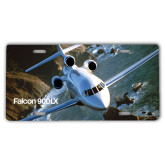 License Plate-Falcon 900LX Coastal