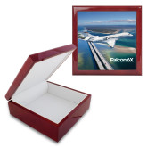 Red Mahogany Accessory Box With 6 x 6 Tile-Falcon 6X In Air