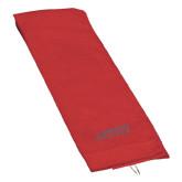 Red Golf Towel-Dassault Falcon